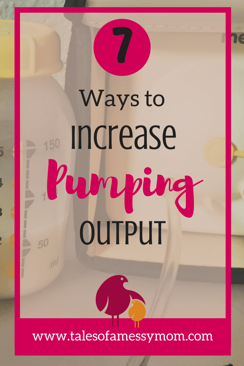 Returning to work after maternity leave is already stressful enough, but if you breastfeed you have the additional stress of making sure you pump enough milk for your little while your'e away. Here are 7 ways to reduce your stress and increase your pumping output! http://www.talesofamessymom.com
