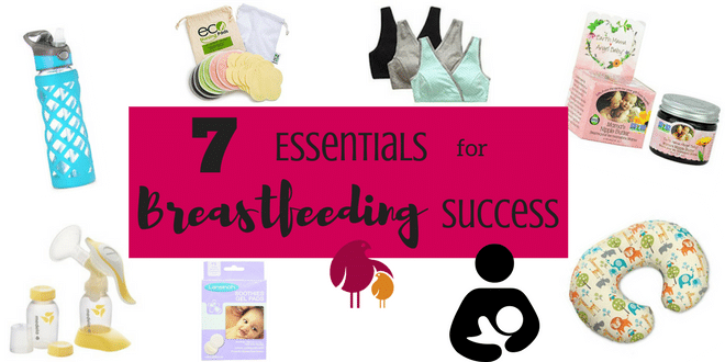 Breastfeeding success hinges on getting off to a good start. These 7 essentials are sure to help make your breastfeeding experience successful and enjoyable! http://www.talesofamessymom.com