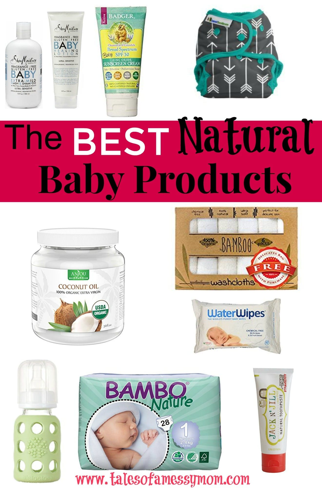 Babyganics was bought out by SC Johnson, Burts Bees by Clorox, and Toms by Colgate. It's harder than ever to find truly non-toxic baby products, as these huge corporations are buying out natural companies and chaning their most loved and trusted recipes. But, with the help of the EWG and Think Dirty app, this guide was compiled for the truly best natural baby products of 2017. http://www.talesofamessymom.com