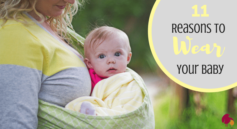 Babywearing Benefits: 11 Reasons to Wear Your Baby. http://www.talesofamessymom.com