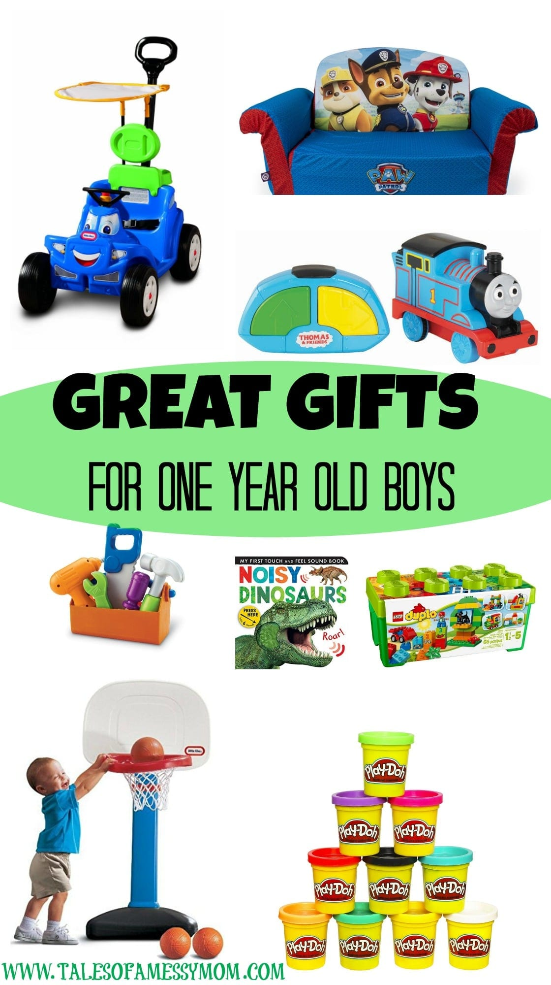 Gift Ideas for e Year Old Boys Tales of a Messy Mom