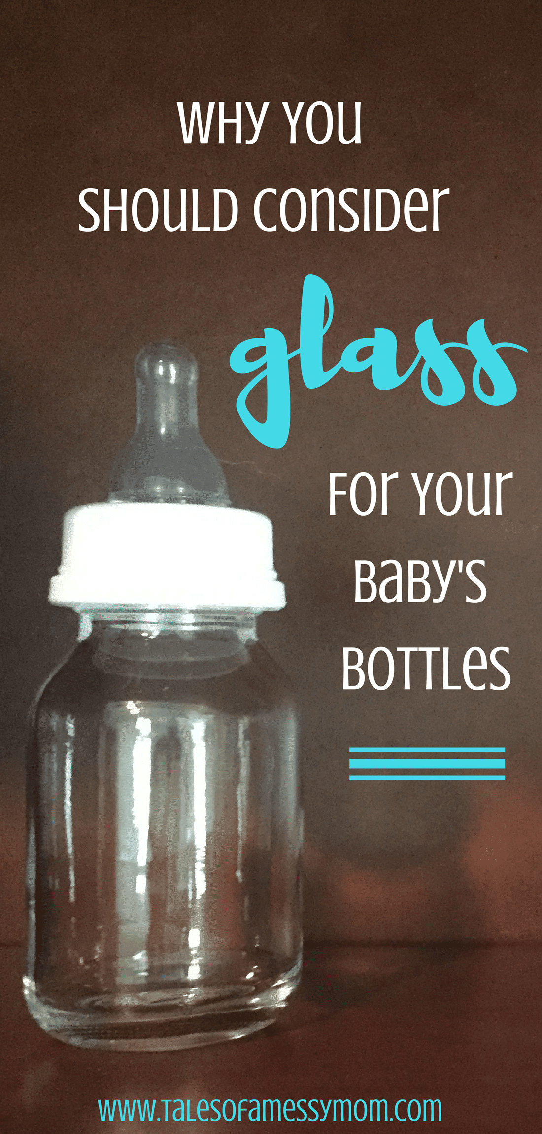 Here are 7 amazing benefits that will make you want to choose glass for your baby's bottles. http://www.talesofamessymom.com